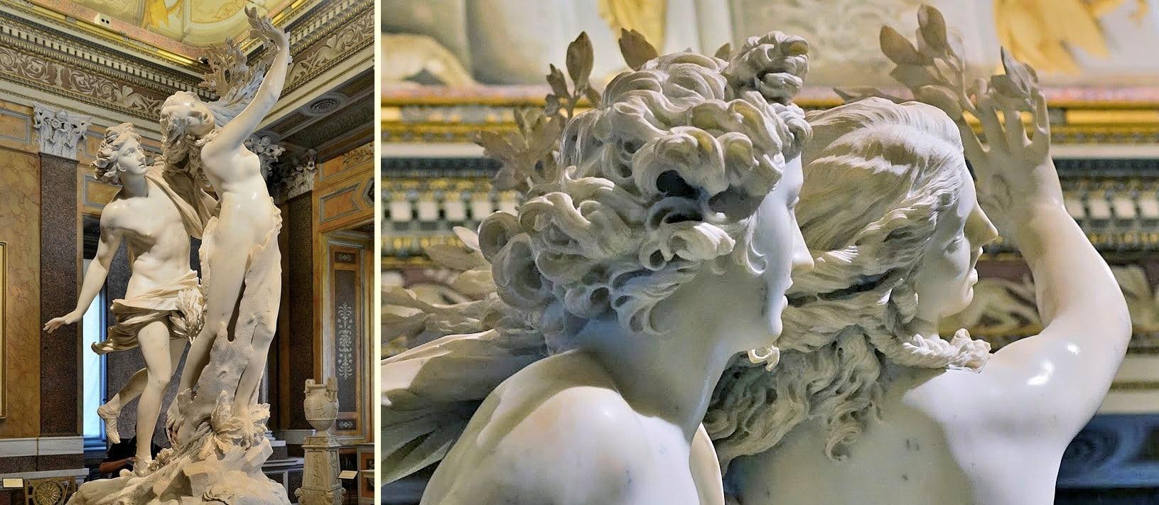 Apollon ve Daphne - Bernini- Borghese Galerisi Bileti ve Rehberi