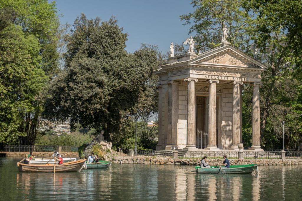 Asclepius ( Esculapio) Tapınağı Borghese Parkı – 2