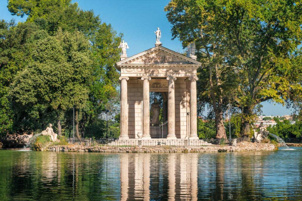 Asclepius ( Esculapio) Tapınağı Borghese Parkı – 2-3