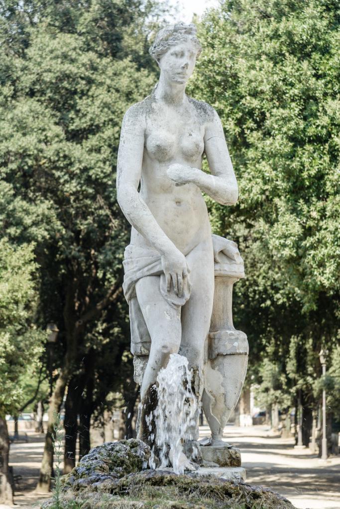 Borghese Bahçeleri – Venüs Çeşmesi