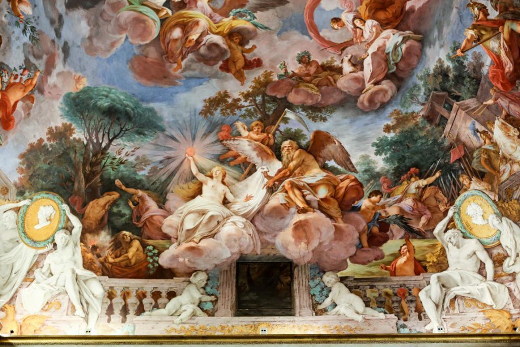 Borghese Galerisi – Freskler