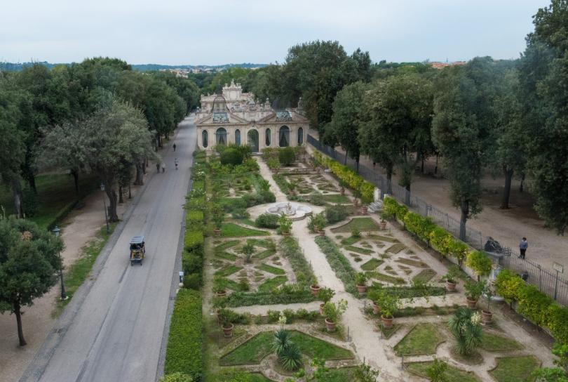 Borghese Galerisi ve Bahçeleri