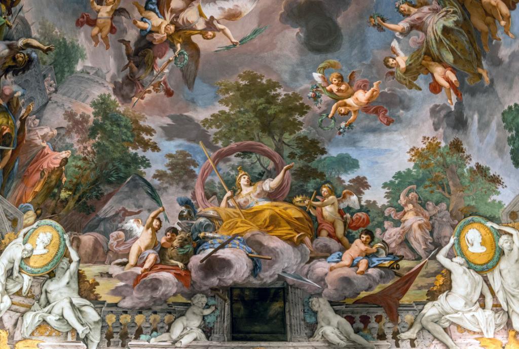Borghese Galerisi'nin muhteşem freskleri (2)