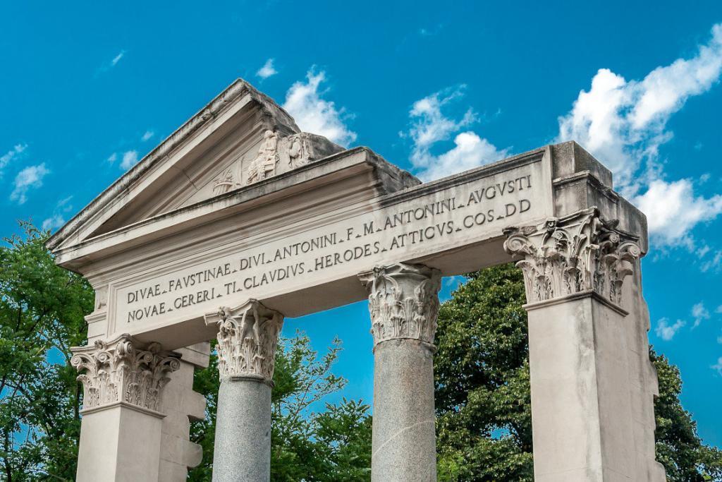 Borghese Parkı'ndan detaylar