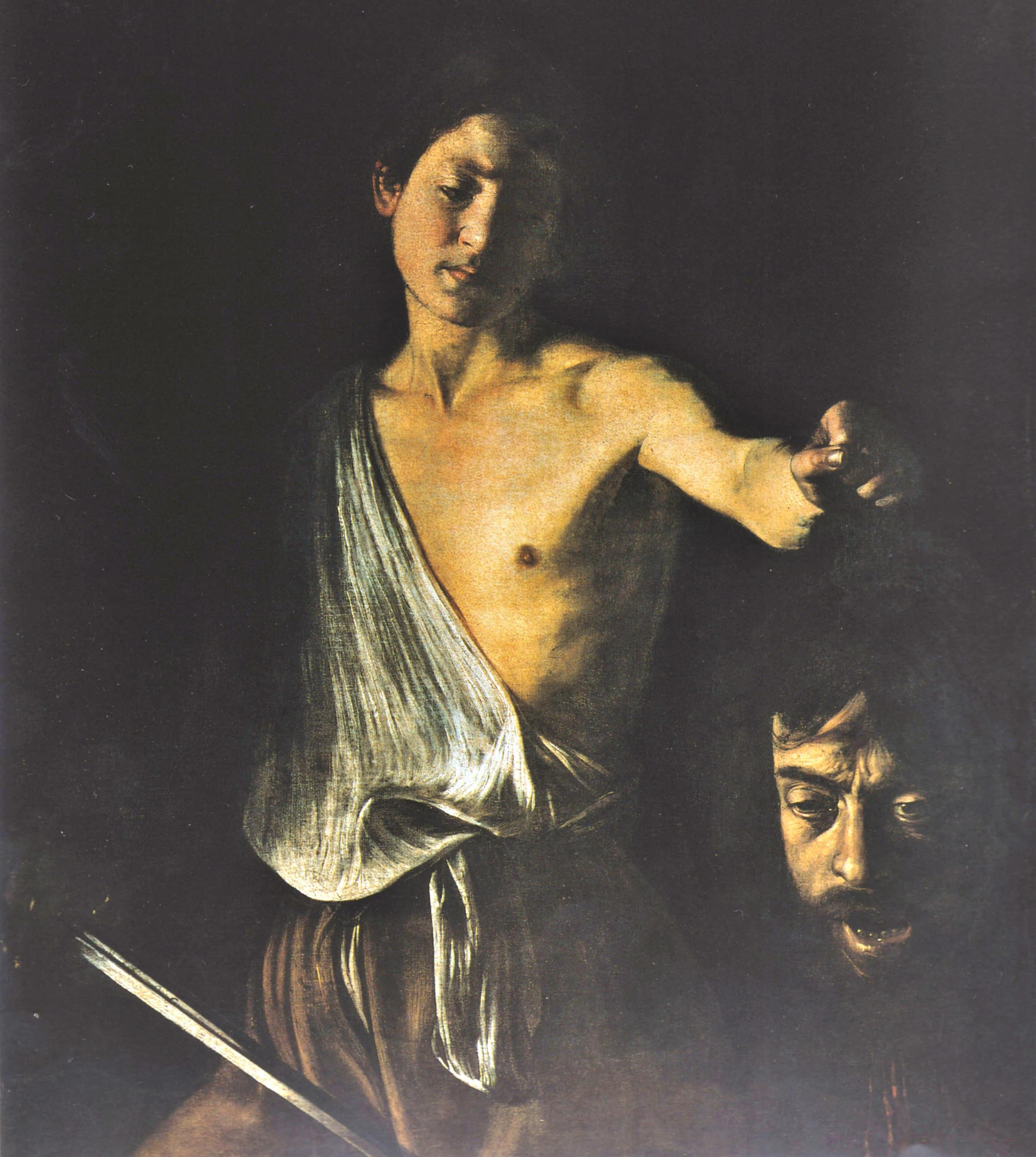 Davut Golyat'ın Kafası ile – Caravaggio