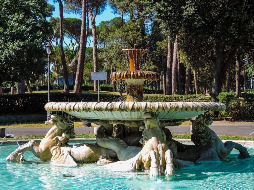 Denizatı Çeşmesi – Borghese – Roma – İtalya