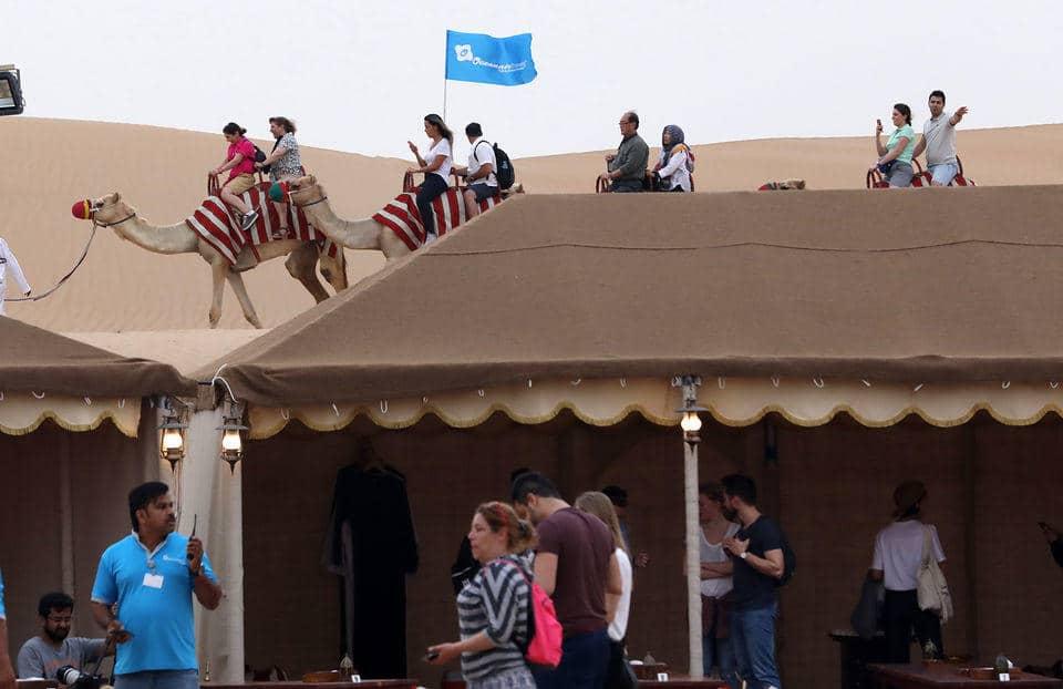 Dubai'de Çöl Safarisi - Çöl Kampınız