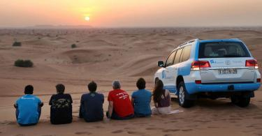 Dubai'de Çöl Safarisi - Gün Batımı