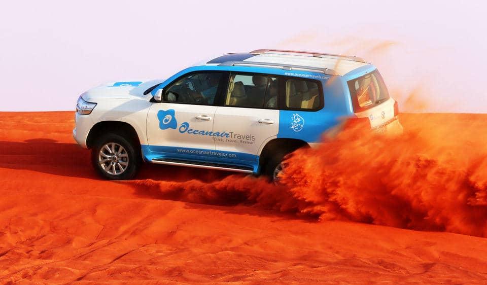 Dubai'de Çöl Safarisi - Jeep ile Kum Dövme