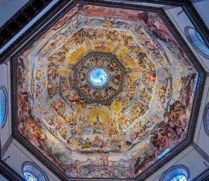 Giorgio Vasari'nin Son Yargı - Last Judgment eseri Floransa Katedrali