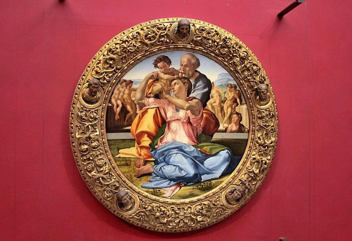 Kutsal Aile - Doni Tondo (1506) - Michelangelo