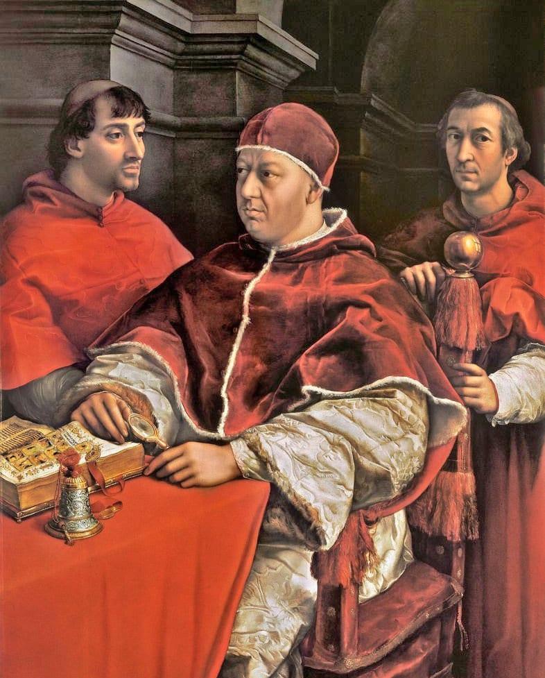 Papa Leo'nun Kardinaller ile Oto Portresi - Raphael- Uffizi Galerisi Bileti ve Rehberi