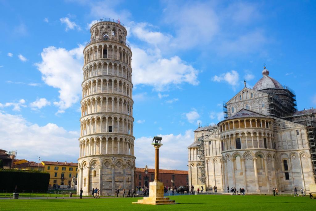Pisa Kulesi - Bahar Mevsimi