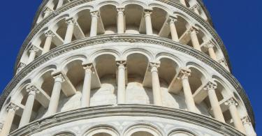 Pisa Kulesi'nden mimari detaylar