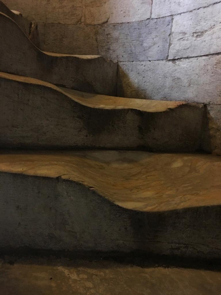 Pisa Kulesi'nin merdivenleri