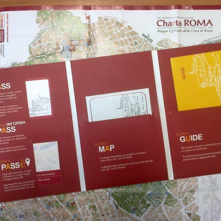 Roma Pass Kartı