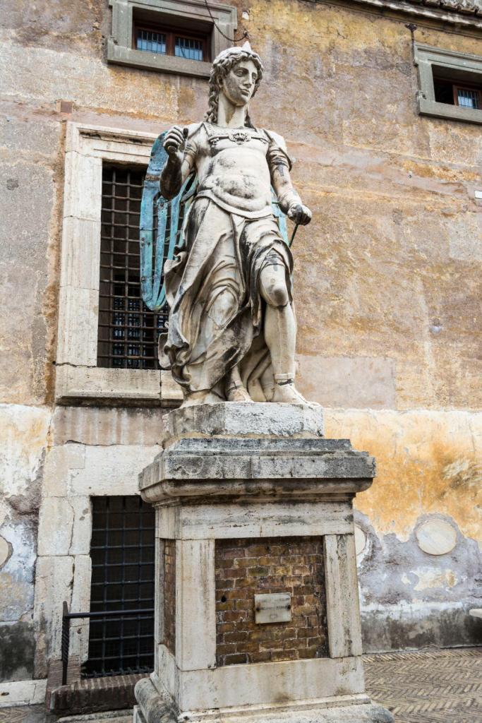 Sant'Angelo Kalesi Bileti - Rehberi - Roma (20)