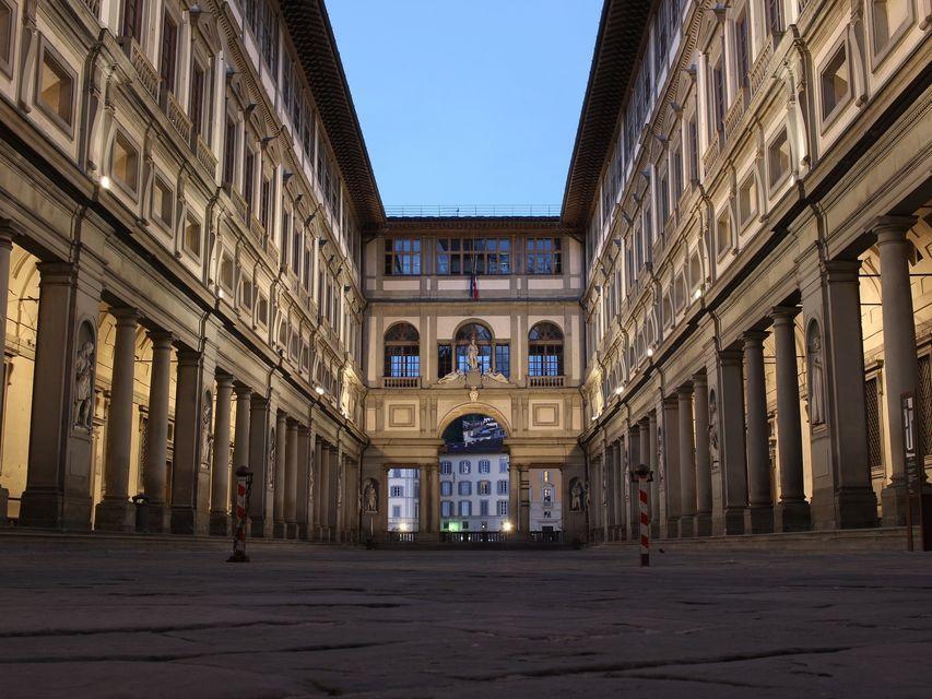Uffizi Galerisi Avlusu