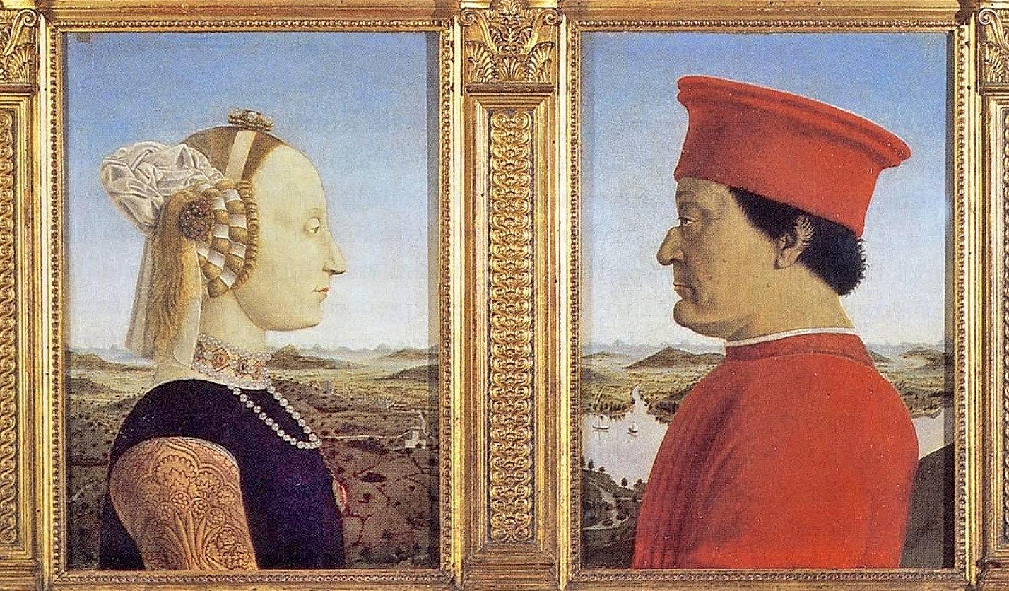 Urbino Dükü ve Düşesi - Piero della Francesca - Uffizi Galerisi Bileti ve Rehberi