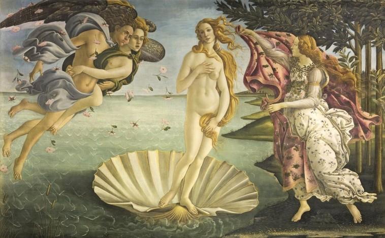 Venüs'ün Doğuşu - Botticelli - Uffizi Galerisi Bileti ve Rehberi