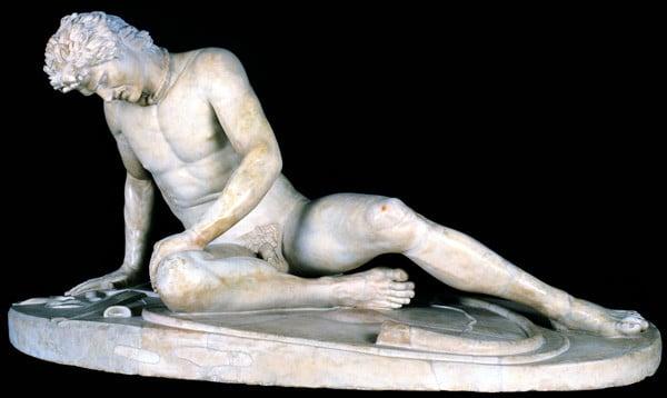 Ölen Köle Heykeli - Kapitolin Müzeleri
