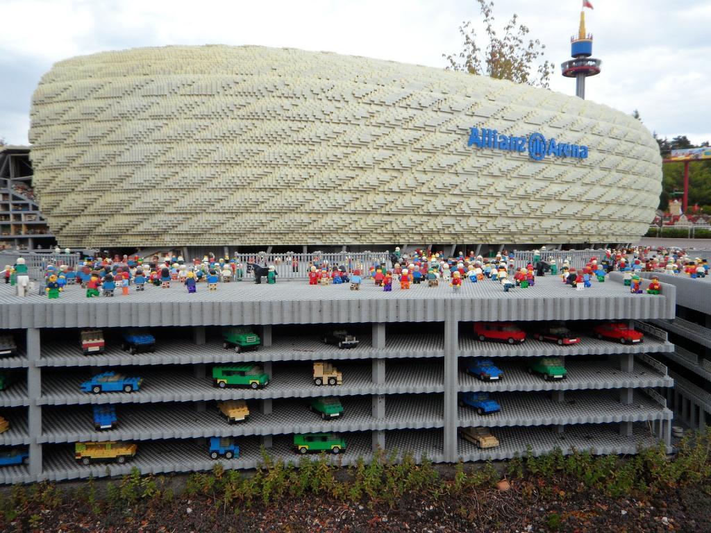 Allianz Arena Münih Legoland Turu