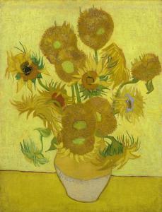Ayçiçekleri Tablosu - Van Gogh Müzesi Bileti