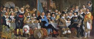 Banquet at the Crossbowmen's Guild in Celebration of the Treaty of Münster, Van der Helst - Rijks Müzesi Bileti