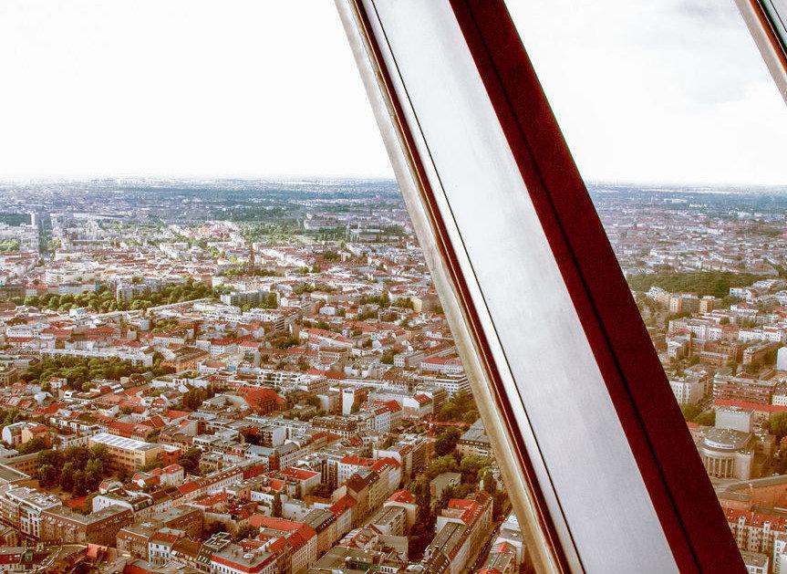 Berlin Tv Kulesi'nden Manzara