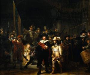 Gece Devriyesi - The Night Watch, Rembrandt Harmensz van Rijn- Rijksmuseum - Rijks Müzesi - Amsterdam, Hollanda.