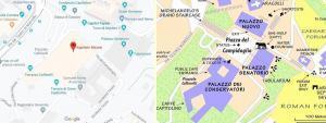 Kapitoline Müzeleri Haritası - Müze Biletleri