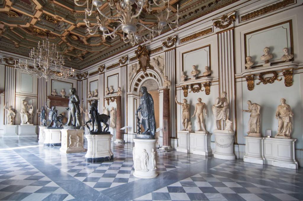 Kapitoline Müzeleri Salonlarından Kareler (2)