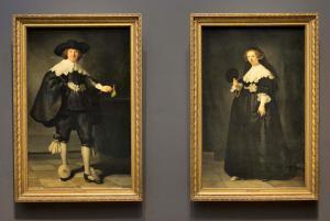 Marten and Oopjen, Rembrandt - Rijks Müzesi