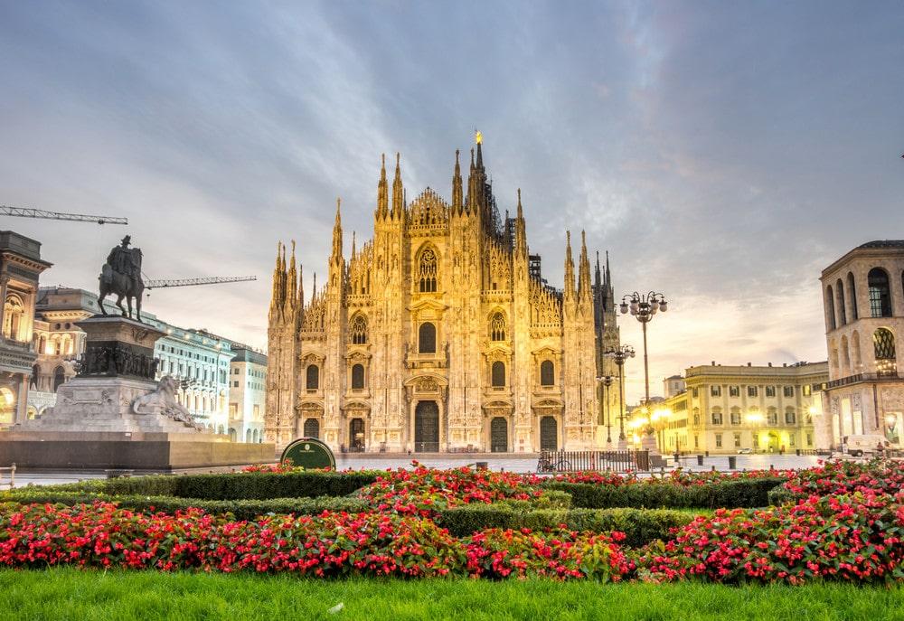 Milano Duomo Katedrali