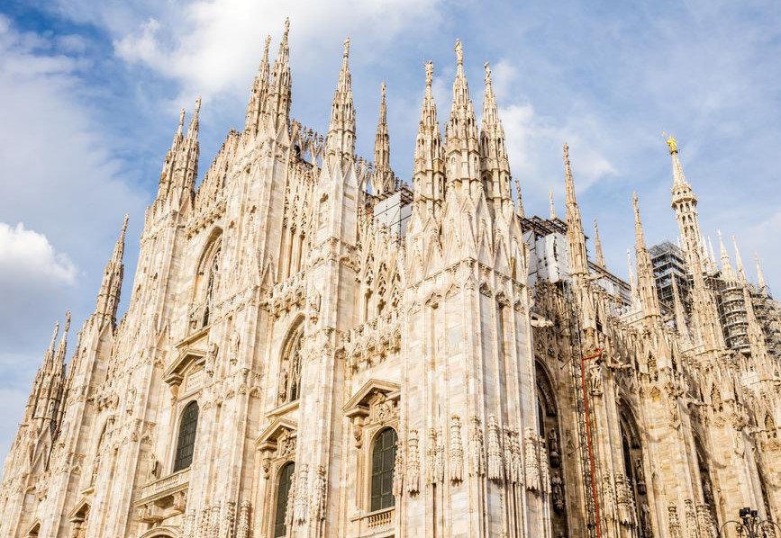 Milano Duomo Meydanı