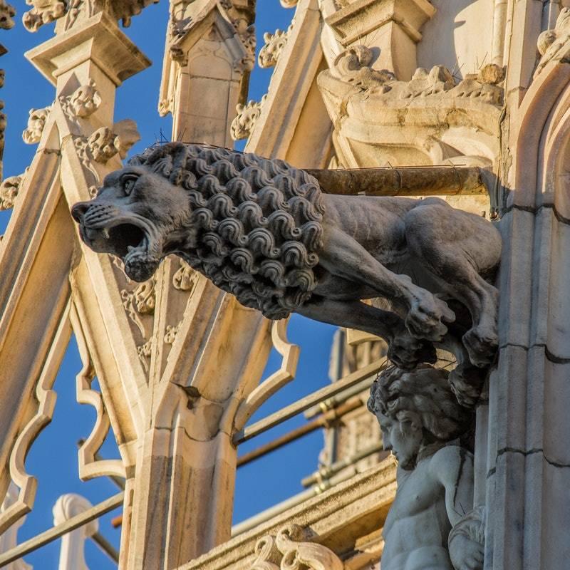 Milano Duomo Katedrali Heykelleri