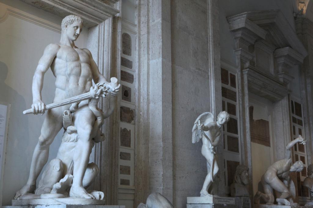 Muhteşem heykelleri - Capitoline Müzesi