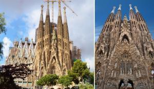 Nativity Façade - Doğuş Cephesi, Uzak ve Yakın Çekimler - Sagrada Familia Bilet Türleri.