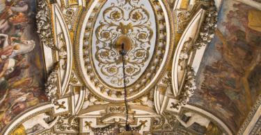 Palazzo Nuovo'dan muhteşem tavan detayları (1)