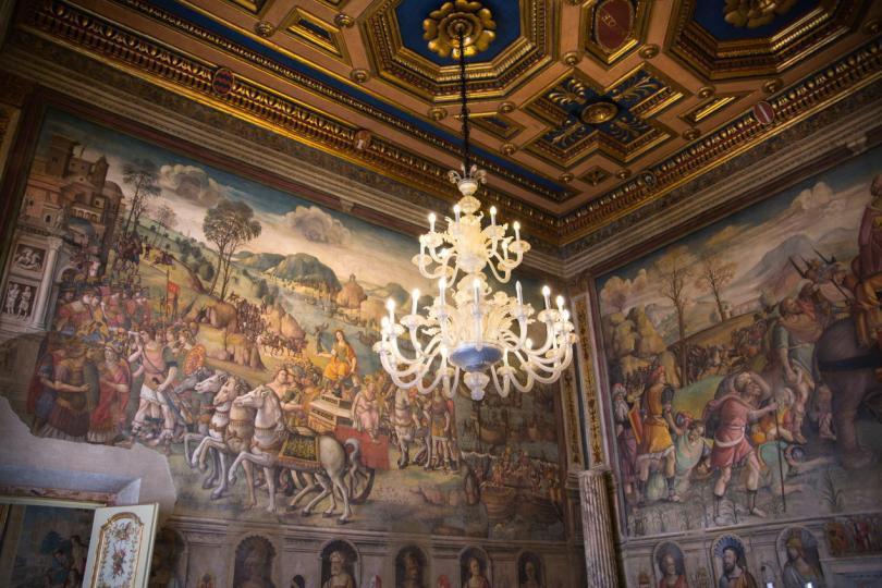 Palazzo Nuovo'dan muhteşem tavan detayları (2)
