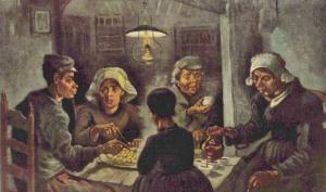 Patates Yiyenler Tablosu Analizi - Van Gogh Müzesi Bileti, Amsterdam, Hollanda