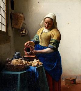 Sütçü Kız - The Milkmaid, Johannes Vermeer - Rijksmuseum (Rijks Müzesi) Bileti ve Rehberi
