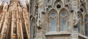 Sagrada Familia - Apse - Apsis bölümünün dış cephesi