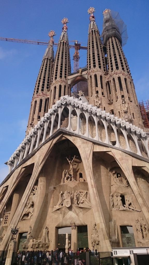 Sagrada Familia İhtişam Cephesi