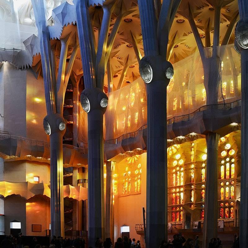 Sagrada Familia Vitrayları