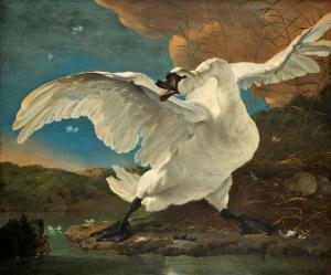The Threatened Swan, Jan Asselijn - Rijks Müzesi Bileti