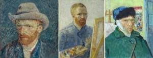 Van Gogh Oto Portreleri - İlk ikisi Müzede