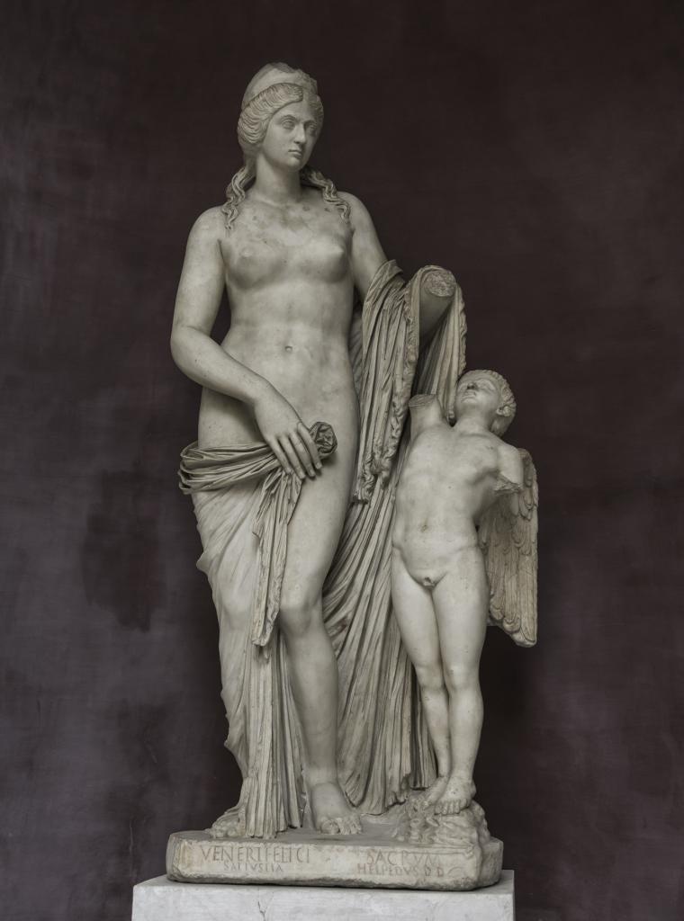 Venüs bir çocuk ile, Kapitolin Müzesi