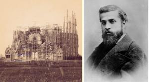 Yıl 1898. Gaudi Nativity Cephesi'ni yani Doğuş Cephesini inşaa ediyor.