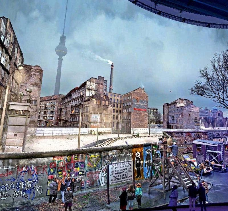 Asisi Panorama - Die Mauer - Berlin Duvarı